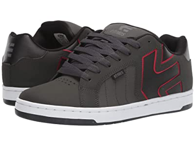 etnies Fader 2 (Dark Grey/Black/Red) Men