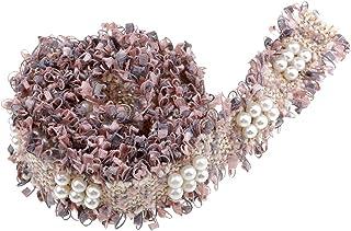 Baoblaze Hermoso Encajes para Decorar Vestidos Decorativo