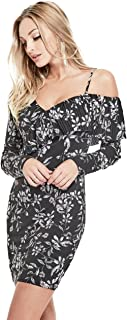 Women's Long Sleeve Nicolette Pleated Dress