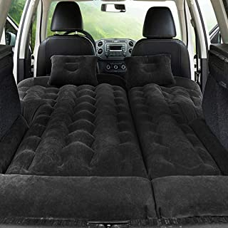 FBSPORT Bed Car Mattress Camping Mattress for Car Sleeping Bed Travel Inflatable Mattress Air Bed for Car Universal SUV Ex...