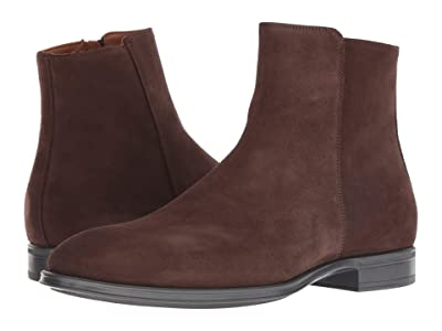 Aquatalia Daniel (Brown Suede) Men