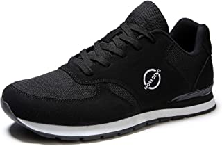 MOERDENG Walking Shoes for Mens Sports Fashion Sneakers Indoor Outdoor Running Fitness Jogging Athletic Road Casual Footwear