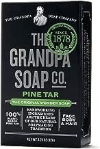 Grandpas Soap, Soap Bar Pine Tar, 3.25 Ounce