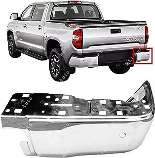 MBI AUTO - Chrome, Steel Passenger's RH Bumper End for 2014-2018 Toyota Tundra 14-17 W/Park, TO1105124