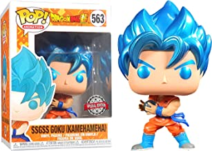 POP: Animation: Dragon Ball Super - SSGSS Goku (Kamehameha) Metallic