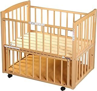 サワベビー L型プチベリー ナチュラル No.6 ミニベビーベッド 添い寝ベッド 0歳 床板に国産ひのきを使用 日本製