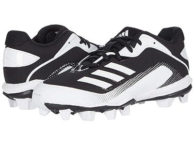 adidas Kids Baseball Icon 6 MD Baseball (Toddler/Little Kid/Big Kid) (Core Black/Footwear White/Footwear White) Kids Shoes