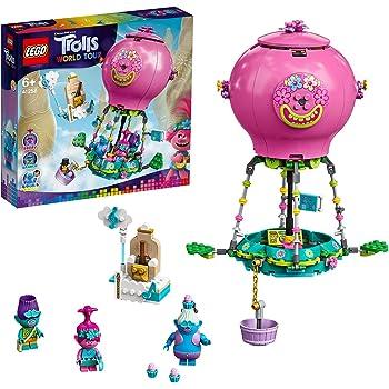 LEGO TrollsWorldTour AvventurainMongolfieradiPoppy, PlaysetconPoppy,Branch,BiggieeMrDinkles, 41252