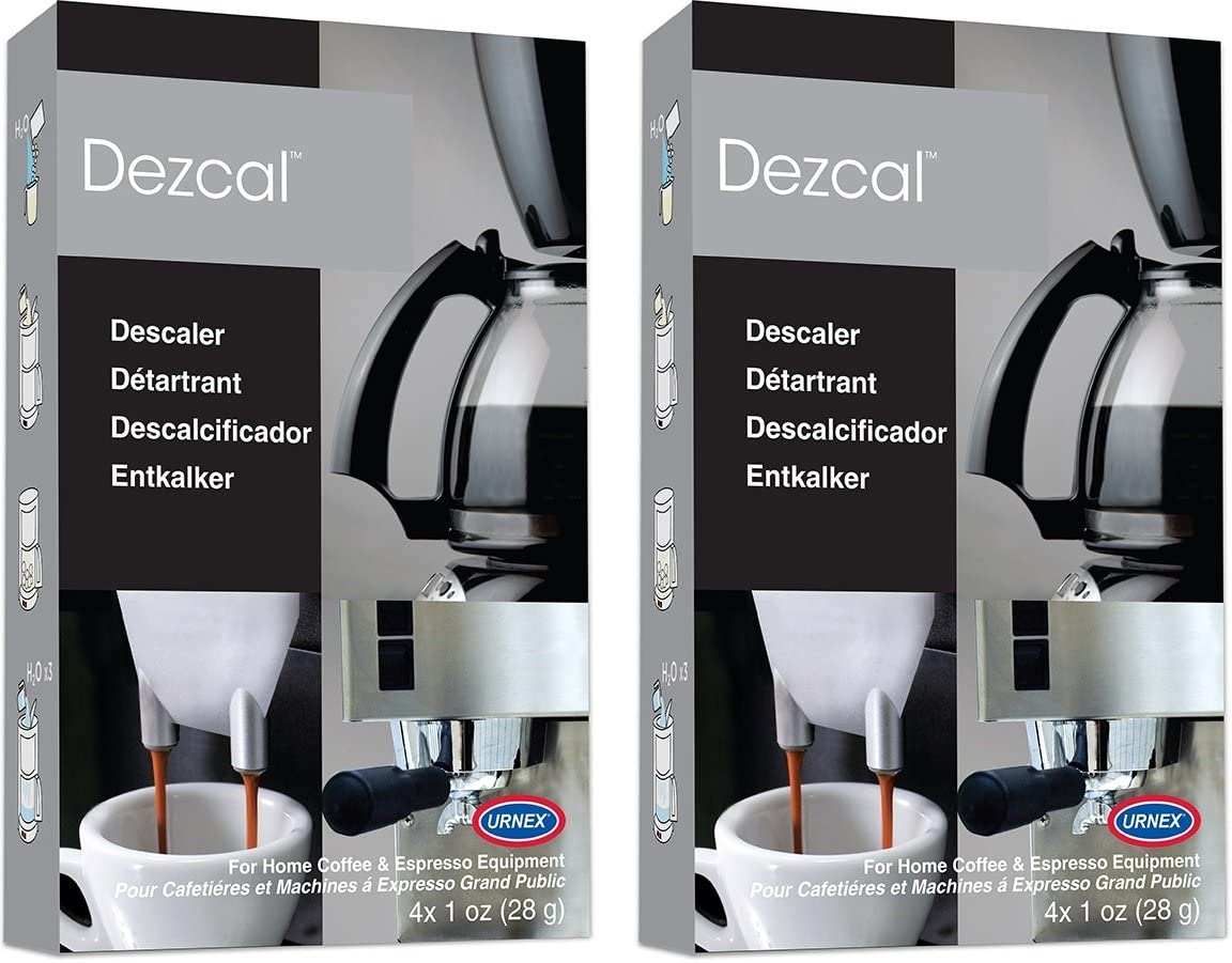 Urnex Dezcal Coffee and Espresso Descaler 2021 autumn winter new - Cleaner Pack OFFicial shop 2