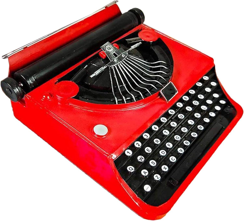 LUCKFY Modelo de máquina de Escribir - Decoración Antigua de ...