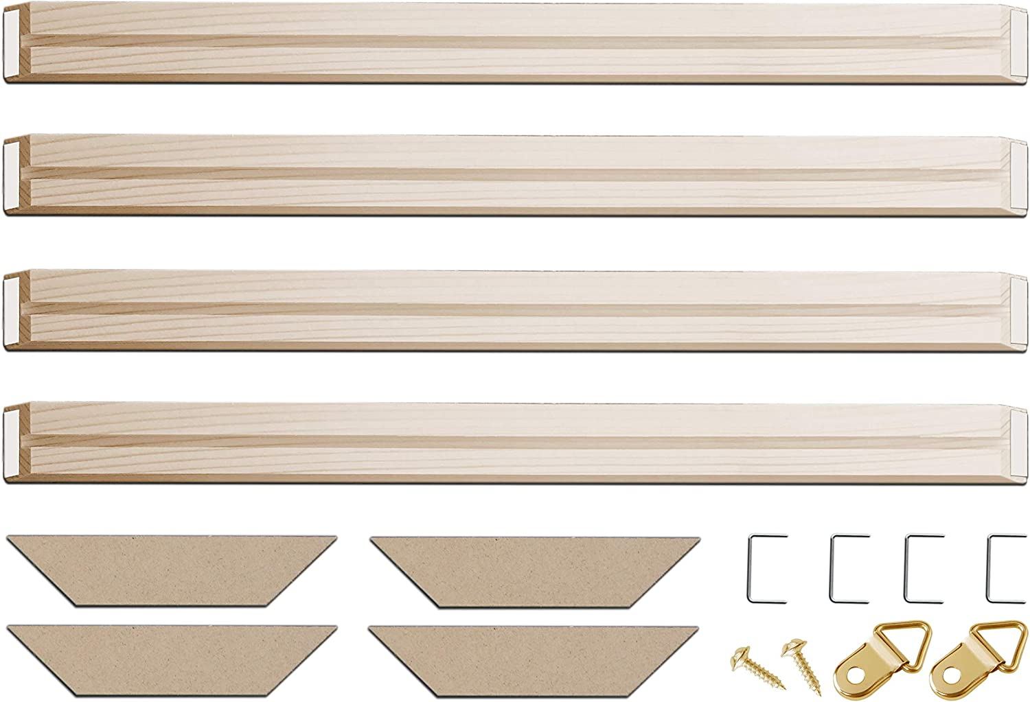 DIY Solid Wood Canvas Frame Kit 即日出荷 36 4 Painting for x Inch Oil 信用 PCs