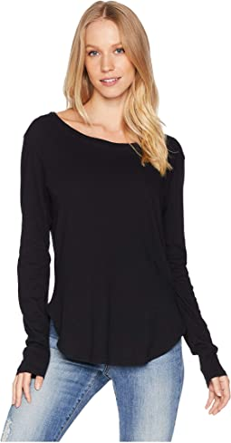 Essential Cotton Long Sleeve Crew Neck