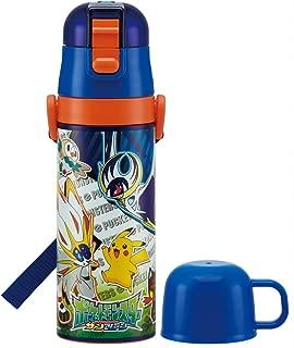 2 WAY stainless steel bottle water bottle with cup 470 ml Pokémon Sun & Moon SKDC 4