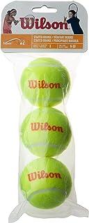Wilson(ウイルソン) キッズ用 硬式テニスボール STARTER FOAM/RED/ORANGE/GREEN (スターター フォーム/レッド/オレンジ/グリーン) ウィルソン