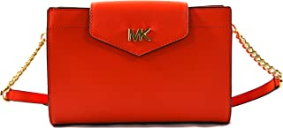 Women's Mott Leather Large Clutch Crossbody Bag Purse Handbag
