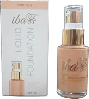Iba Halal Care Pure Skin Liquid Foundation, Ivory Fair