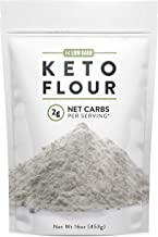 Low Karb - Keto Flour - All Purpose - Low Carb Food - Only 2g Net Carbs per Serving (16 oz)