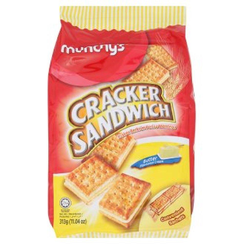 Munchy's Butter Cream Sandwich Cracker Convi-Packs Baltimore Mall Memphis Mall 313g 628MA 7