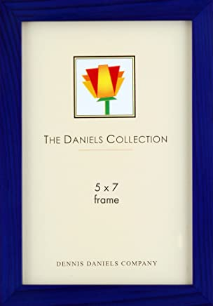 Dennis Daniels Gallery Woods Picture Frame, 5 x 7 Inches, Blue Finish
