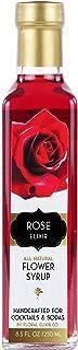 Floral Elixir Co. Rose Elixir - All Natural Syrup for Cocktails & Sodas
