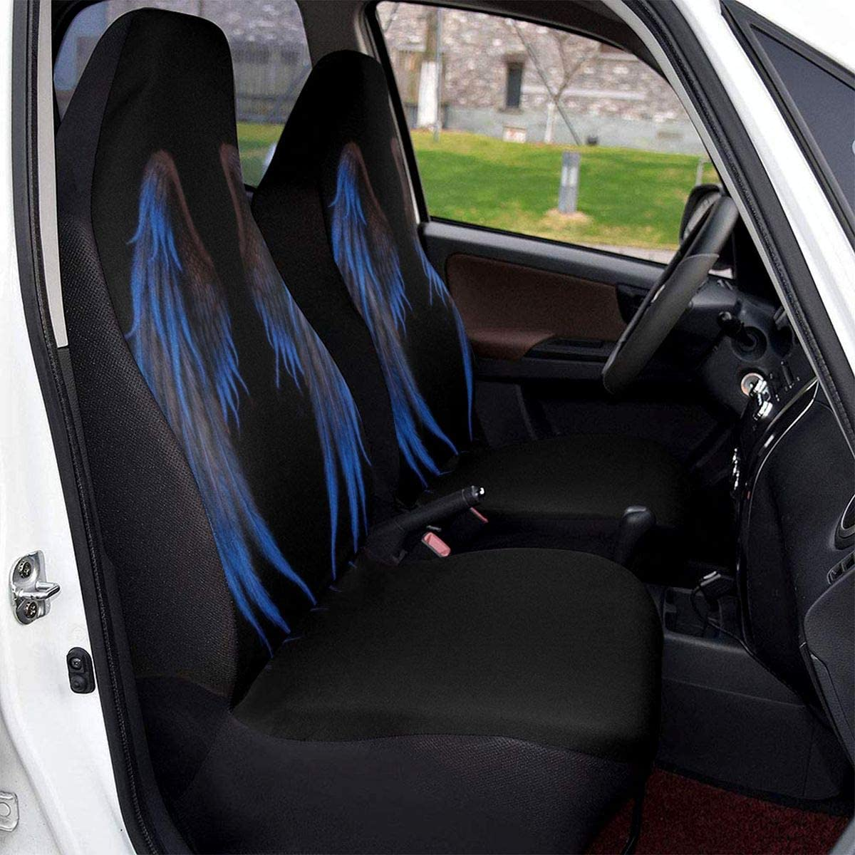 Midbeauty Rare Angel Wings Cheap SALE Start Car Seat Set Vehicle Protector Covers