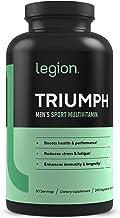 لژیون Triumph Daily Multivitamin Supplement - ویتامین ها و مواد معدنی برای اضطراب، افسردگی، استرس، سیستم ایمنی، سلامت قلب، انرژی، ورزش و بدنسازی. 30 کیلوگرم