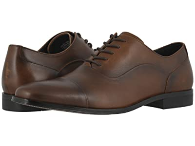 Florsheim Jetson Cap Toe Oxford (Cognac Smooth) Men