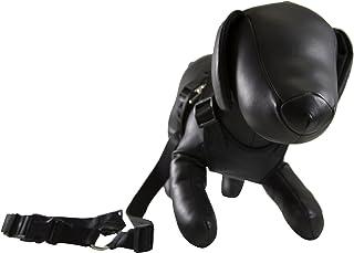 Petcessory PHB-001-BLK-M Travel Harness with Leash, Medium, Black