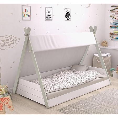 Bainba Cama Infantil Montessori Nube (140, 70): Amazon.es: Hogar