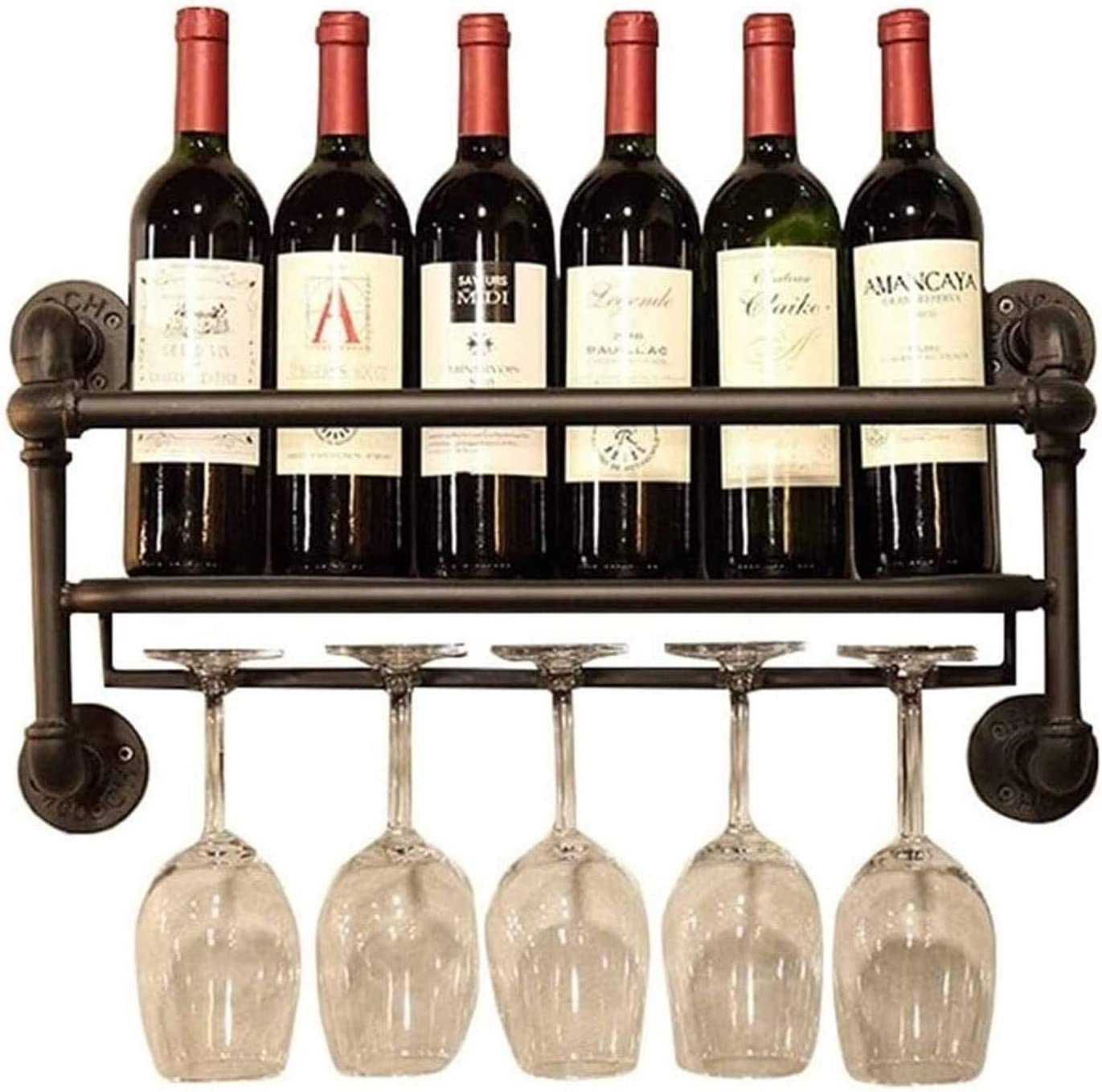 LXYYY Wine Rack Ceiling National uniform free shipping 2021 spring and summer new Industri Bottle Hanging Holder