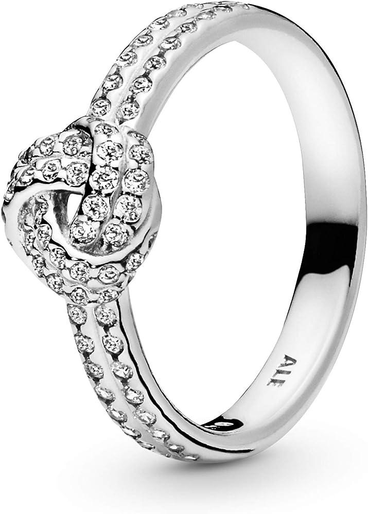 Pandora anello da donna in argento stearling 925 e zirconi 190997CZ-52