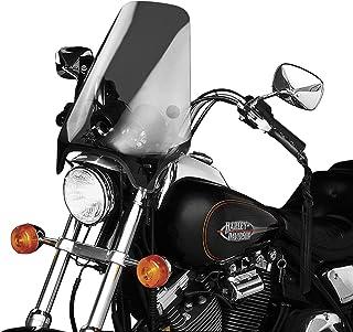 Slipstreamer HD-0-T Motorcycle Windshield, Smoke