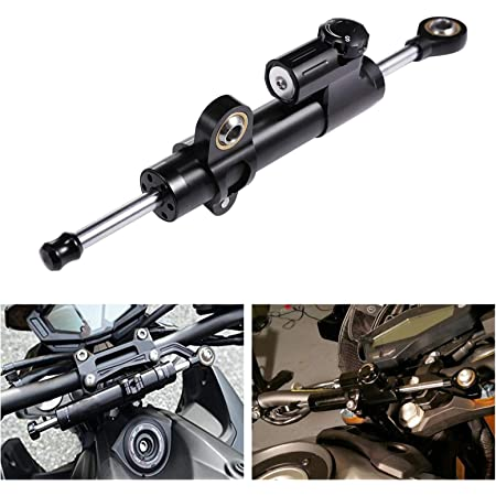Gray Adjustable Steering Damper Balance Stabilizer Tool for YAMAHA YZF-R15