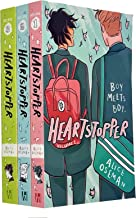 Heartstopper Series Volume 1-3 Books Collection Set By Alice Oseman