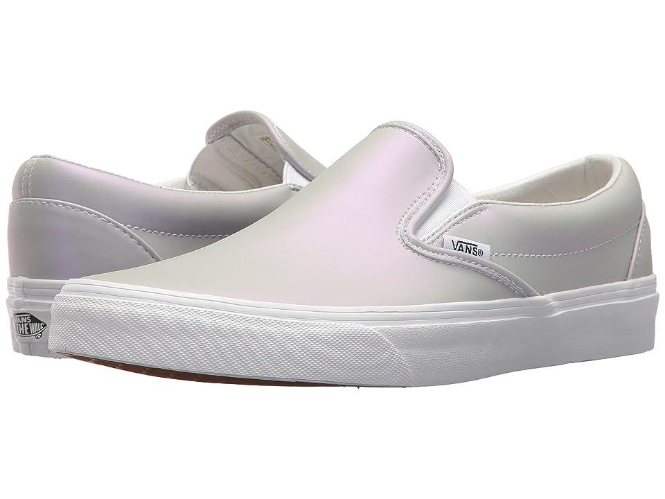 Vans Classic Slip-Ontm ((Muted Metallic) Gray/Violet) Skate Shoes