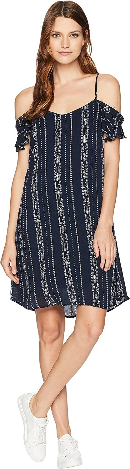 American pink Womens Cora Off The Shoulder Dress