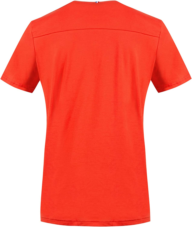 Le Coq Sportif Mens Tri Tee Ss N/°6 M Short0Sleeved T-Shirt