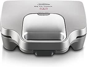 Sunbeam Big Fill Toastie 2 Up Sandwich Toaster, Silver