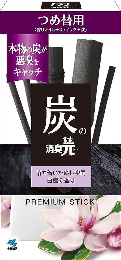 メロドラマ蘇生するひばり炭の消臭元 つめ替用 白檀の香り