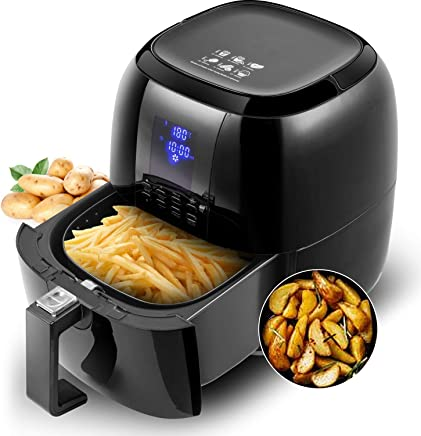 Sinoartizan 4.2 Quarts Air Fryer Oven Oil Free Airfryer 1400 Watt Electirc Hot Air Fryer and