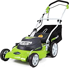 electric start riding mower