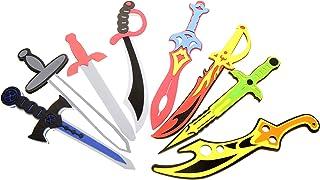 PowerTRC 8 Set Sword Play Set with Unique Swords | Scimitars | Long Sword | Cutlasses | Viking's Sword