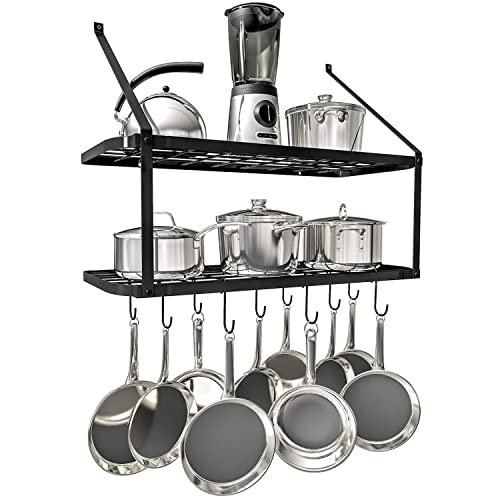 Wall Kitchen Rack to Hang Pots: Amazon.com