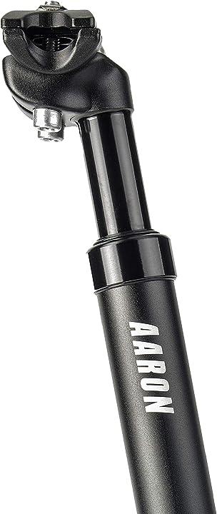 Reggisella ammortizzato in alluminio per bicicletta - diametro 27,2 mm - lunghezza 350 mm AA-1005-01