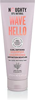 Noughty 97% Natural Wave Hello Shampoo - Curl Defining - 250ml