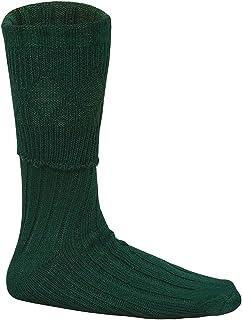 Verde Hombre Escocesa Montaña Ropa Kilt Hose Calcetines S/M/L/XL