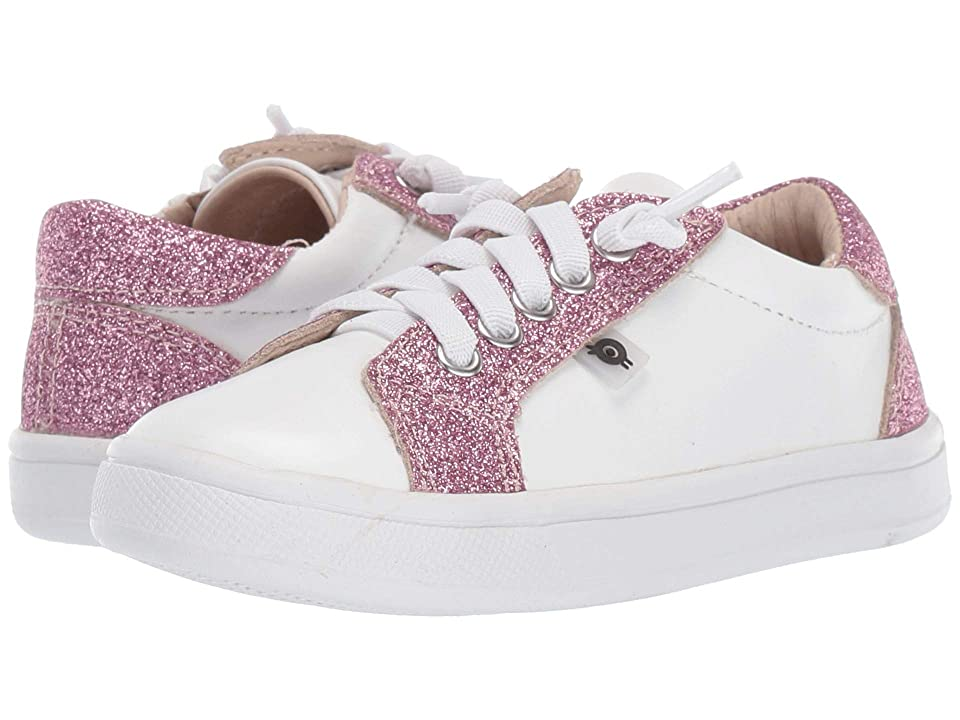 Old Soles Style Council (Toddler/Little Kid) (Snow/Glam Pink) Girl