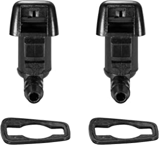 2 Front Windshield Washer Nozzle Jet Kit fit for 2008 2009 2010 Ford F-250 F-350 F250 F350 SUPER DUTY Replacement for the Part# 7C3Z-17603-A 7C3Z17603A