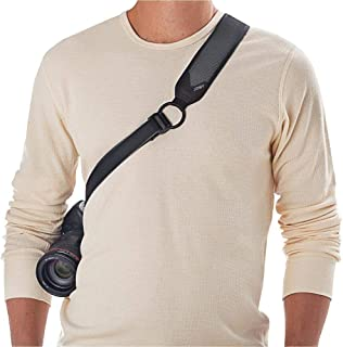 Joby JB01257-BWW-NA Ultra Fit Camera Strap for Men - Black