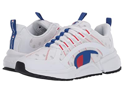 Champion Kids RF Pro Runner (Big Kid) (White) Boy